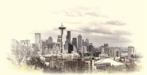 Seattle as viewed from Kerry Park. This is the same view as from the opening of the Frazier show.