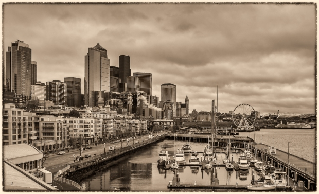 Seattle from pier 66