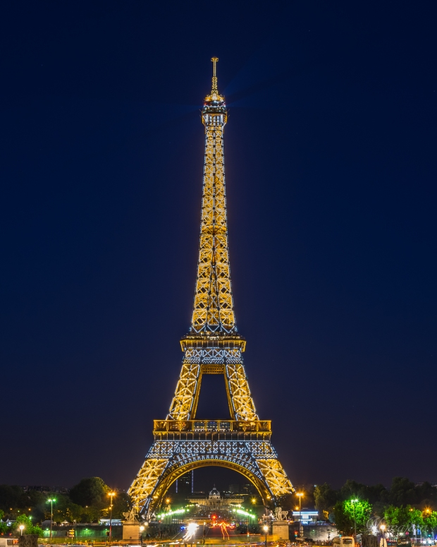 Night shot Tour Eiffel