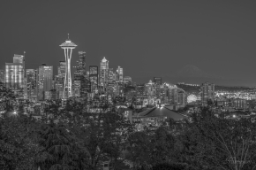 Downtown Seattle from Kerry Park.